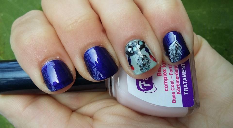 November's Nails Challenge – Dreamcatcher