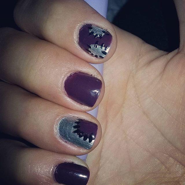 November's Nails Challenge – Patchwork nails