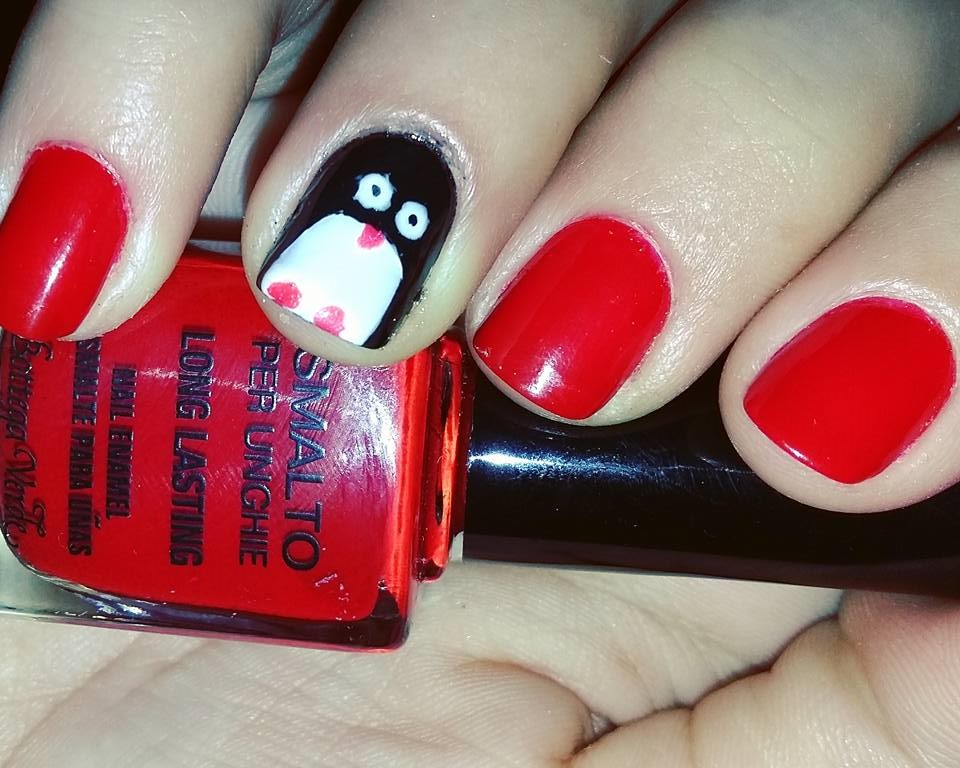December's Nails Challenge – Winter Animal