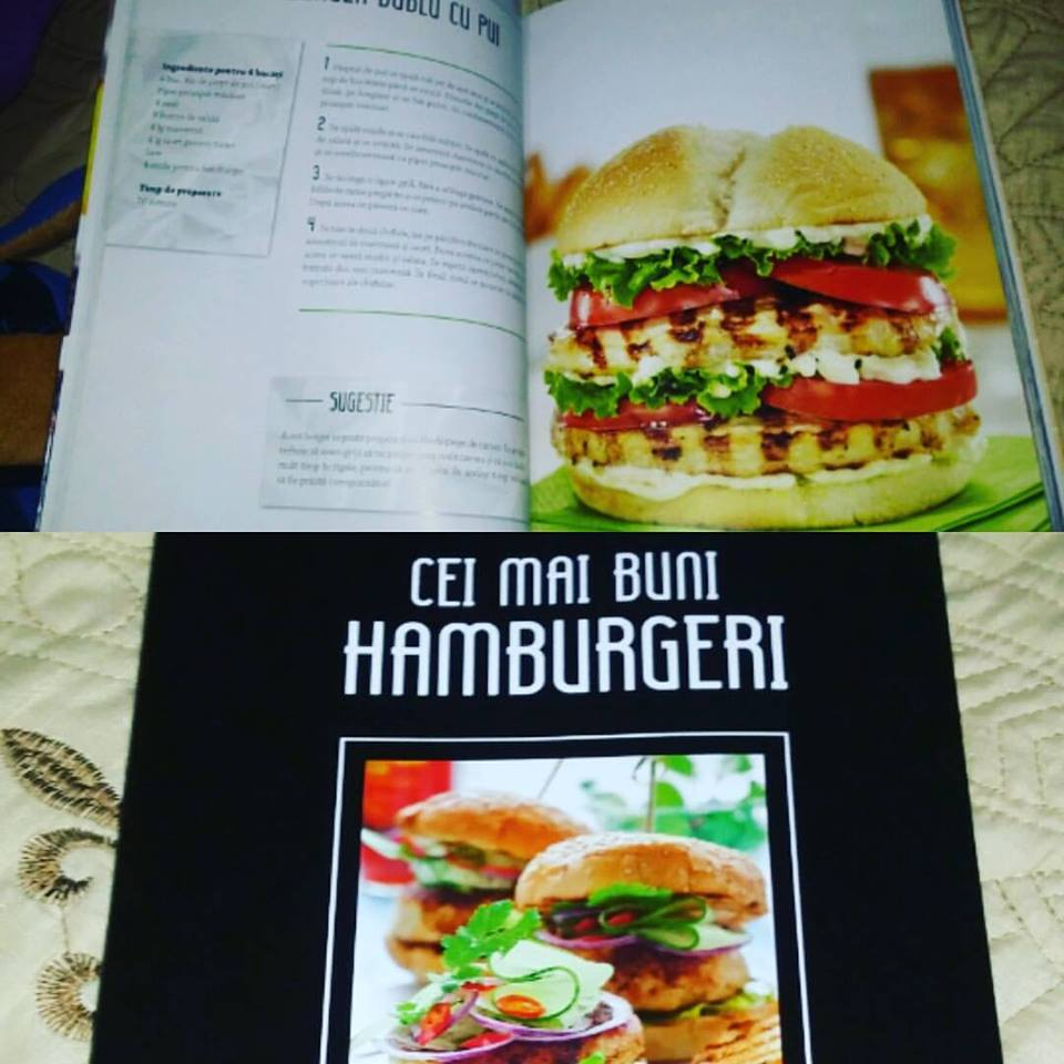 Cei mai buni hamburgeri – Retete clasice, vegetariene si vegane
