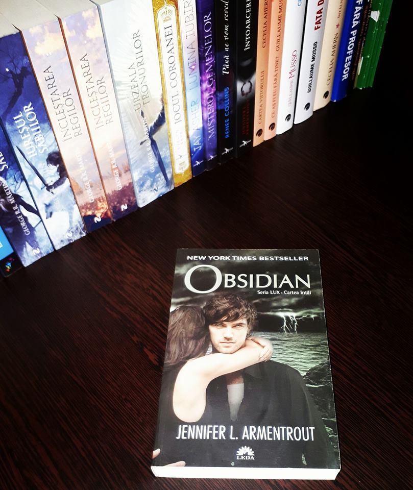Seria Lux: Obsidian, cartea intai – Jennifer L. Armentrout