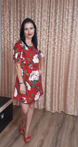 Rochie cu print floral de la TOSAVE