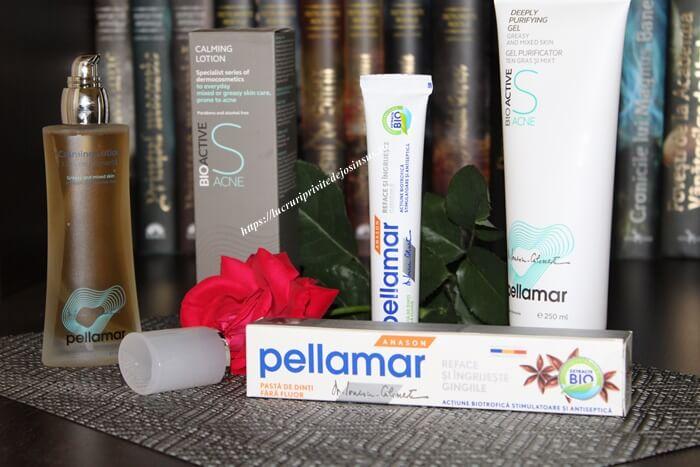 Vrei să scapi de acnee? Alege produsele BioActive S Acne de la PellAmar