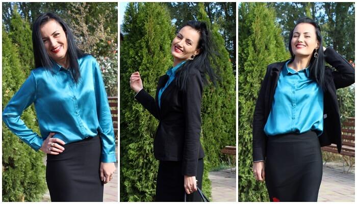 Fustă și geantă de la Fashion Mia