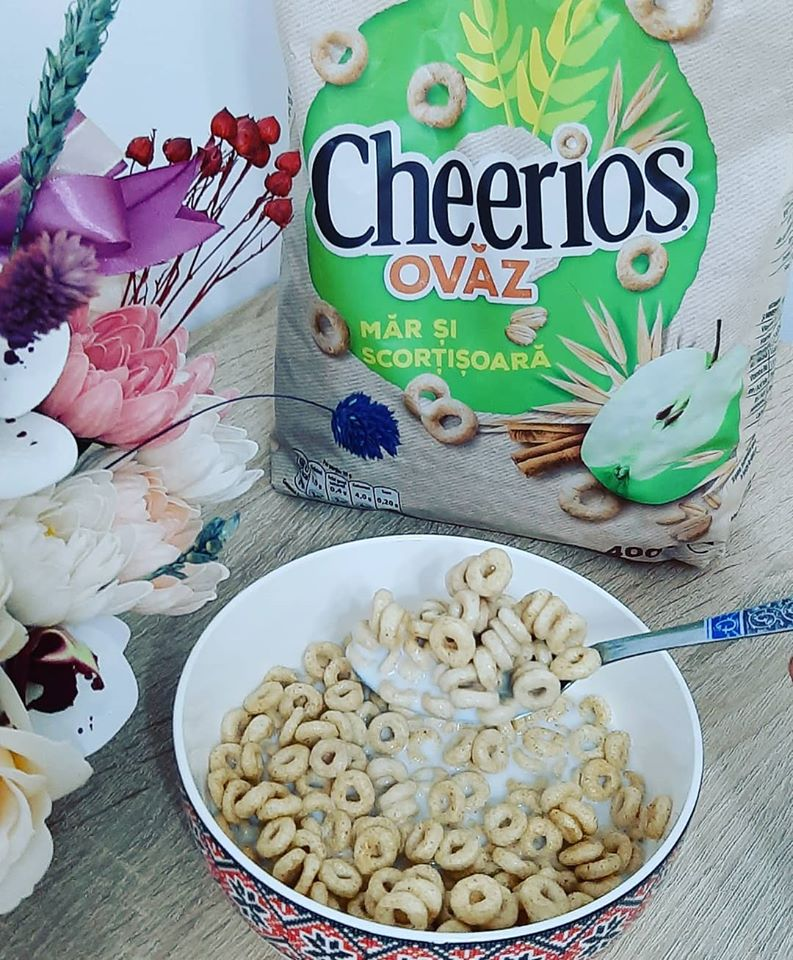 Cerealele Nestle Cheerios Ovăz