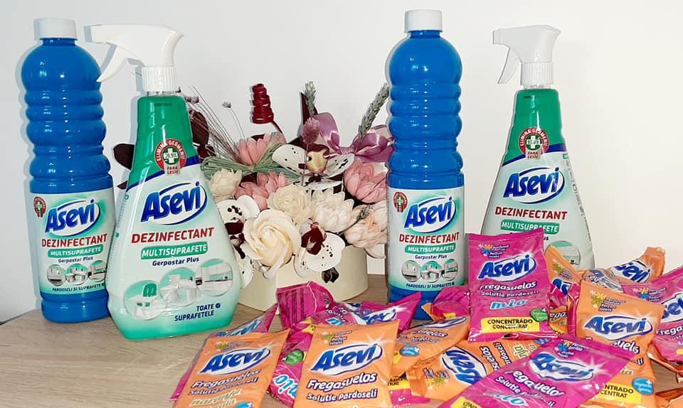 Dezinfectant multisuprafețe ASEVI Gerpostar Plus pentru o dezinfectare sigură