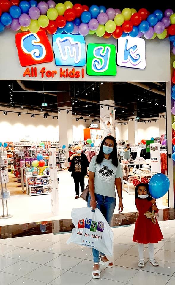 Marea deschidere a magazinului SMYK All for kids în Brăila Mall