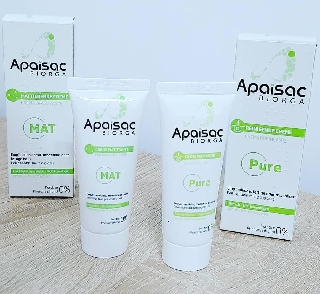 Biorga Apaisac – produse dermatocosmetice pentru tenul mixt