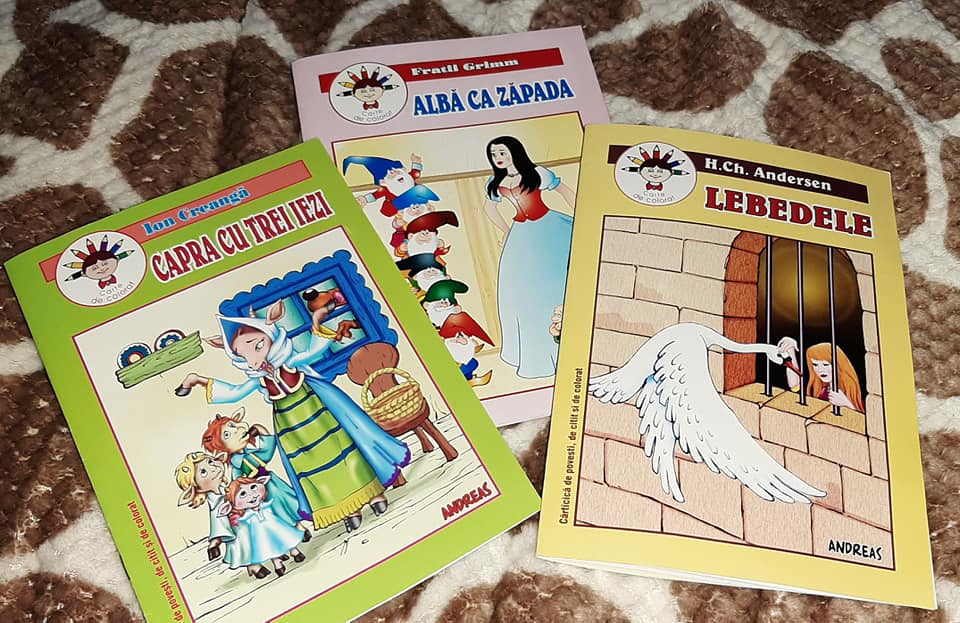 3 cărți de povești de la Libris.ro