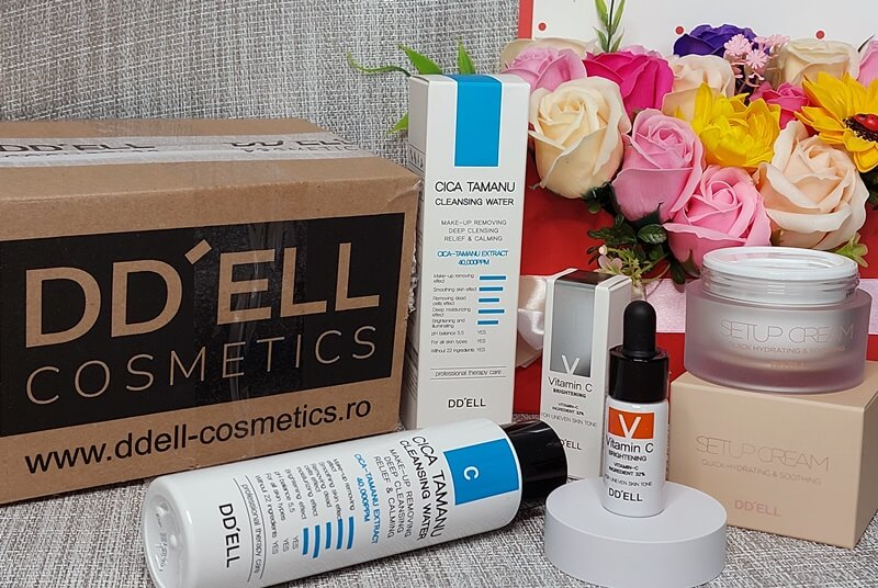 Produse cosmetice coreene DD'ell Cosmetics