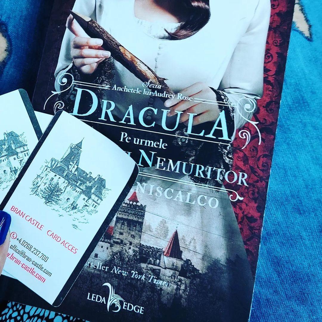 Dracula.Pe urmele Prințului Nemuritor de Kerri Maniscalco/recenzie
